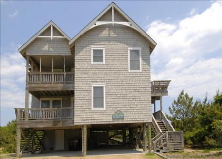At Last Duck Sanderling Outer Banks Vacation Rentals Outer Banks Vacation House Styles