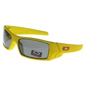 Oakley Gascan Sunglasses yellow Frame black Lens Sale Outlet : Cheap Oakley  Sunglasses$18.91