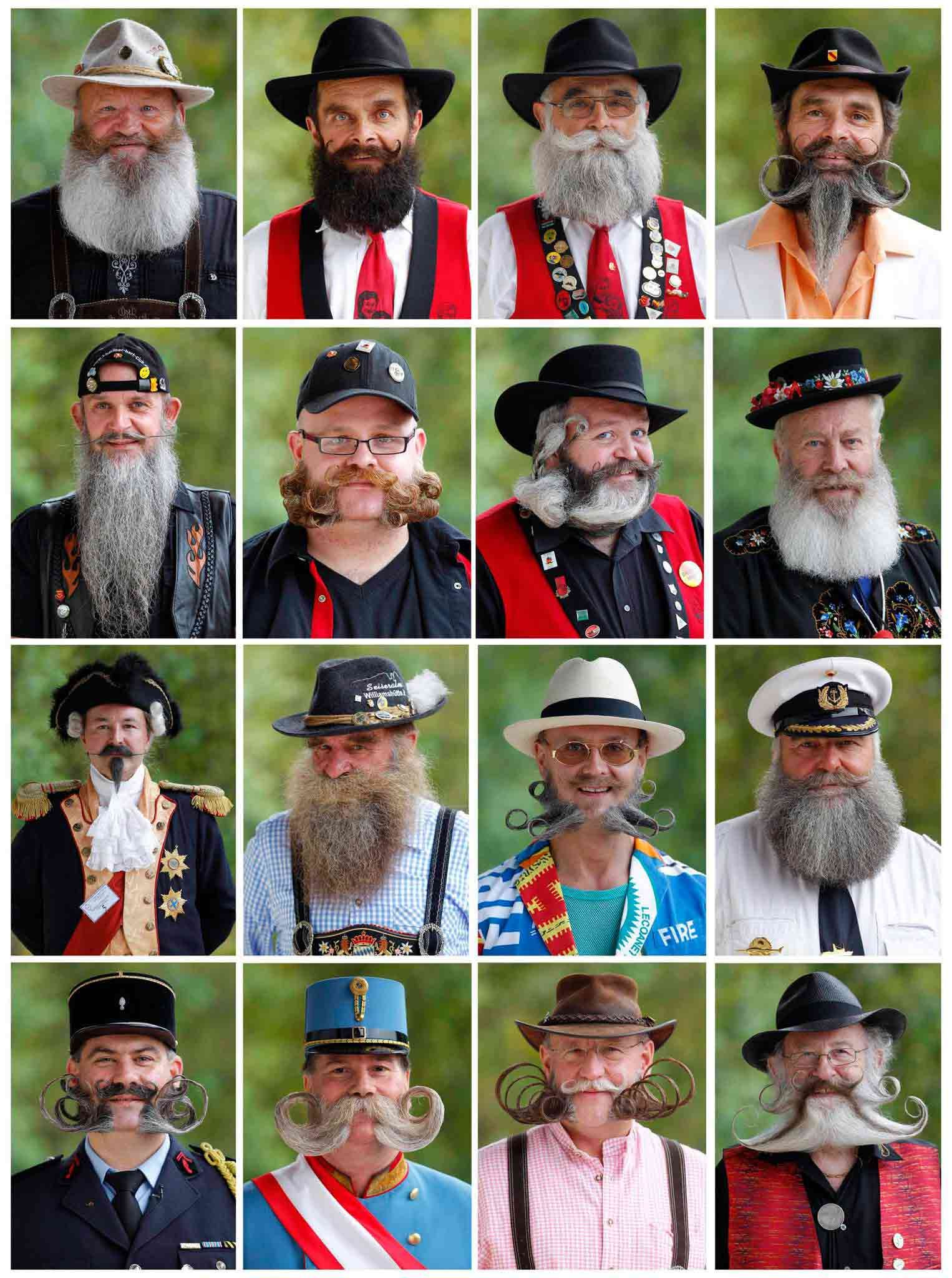 Just A Handful Of The Gents Who Competed In Yesterday S First European Beard And Mustache Championship In Wittersdorf France Beard No Mustache Beard Moustache