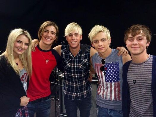 Rydel, Rocky, Riker, Ross, and Ratliff known as R5