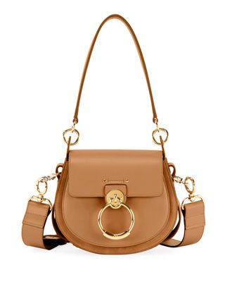 6bf126c32 Chloé Tess Large Leather/Suede Camera Crossbody Bag in 2019 ...
