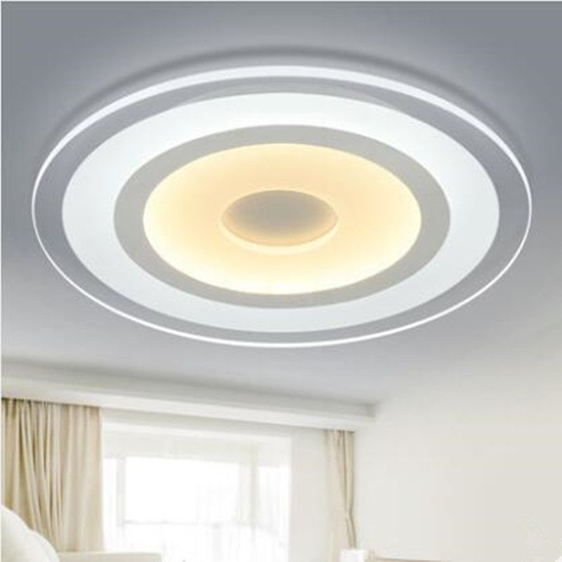 Modern Lights Ultra Thin Ceiling Circular Led Lamp Iron