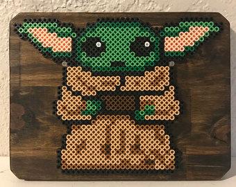 Yoda Star Wars Hama Perler Beads By Uial Bugelperlen