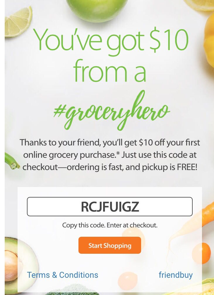 $10 Walmart coupon for online grocery orders with store
