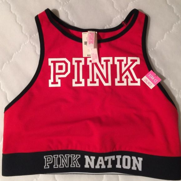 NWT Pink Nation sports bra Brand new sports bra from VS size Small. Fits AA to C cup. PINK Victoria's Secret Intimates & Sleepwear Bras