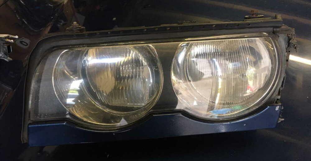 Headlight For Bmw E38 7 Series Facelift Nearside Left Halogen For