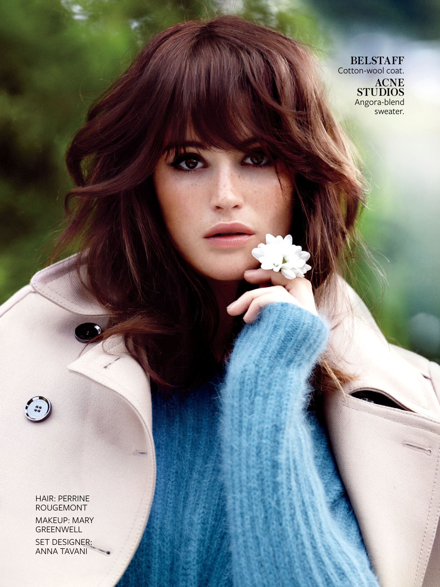 Instyle gemma arterton photographed by emma tempest