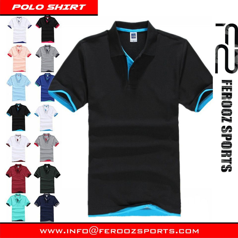 Custom Polo Shirt High Quality Mens Custom Embroidered Or Printed