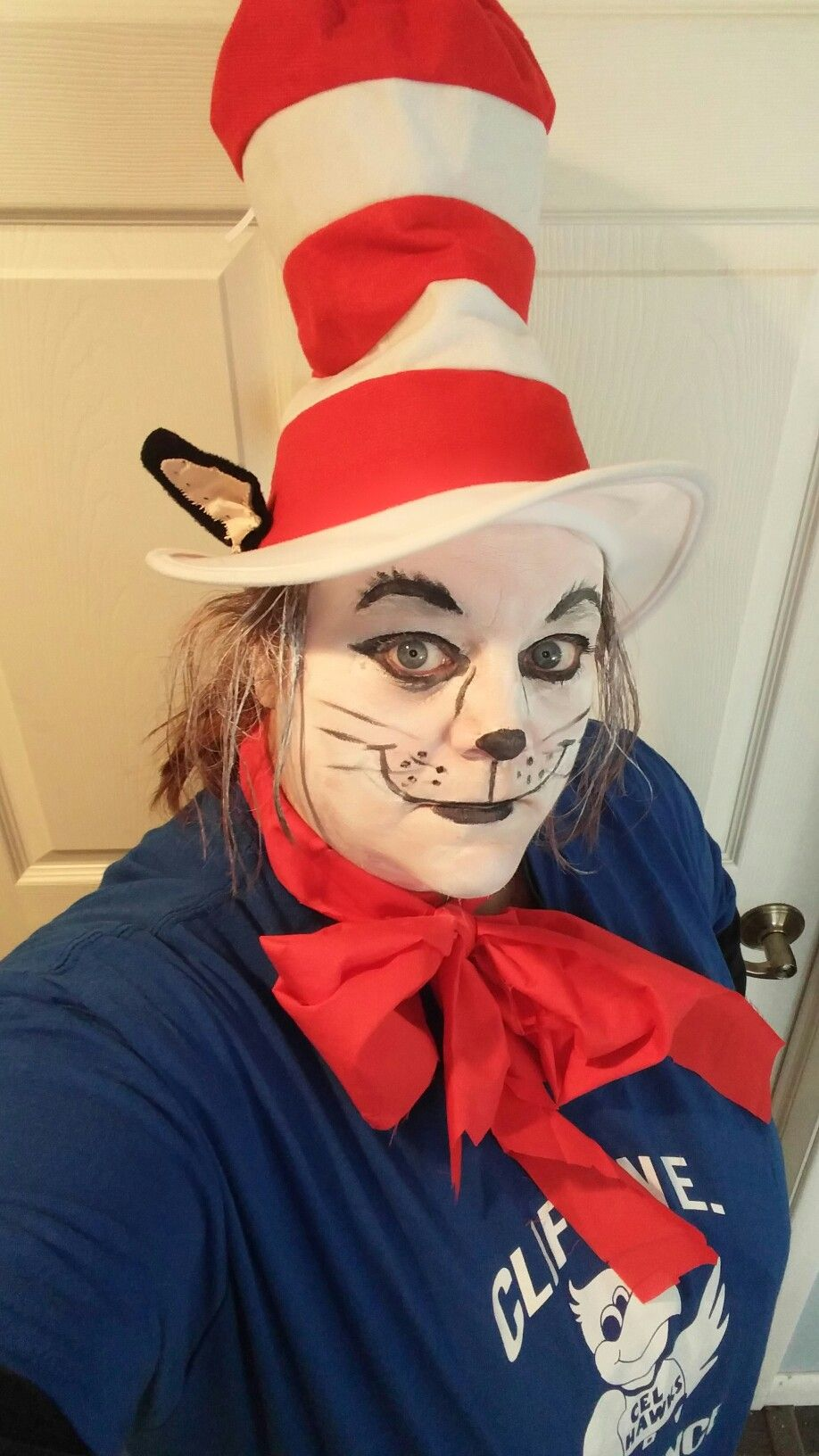 The Cat In The Hat (face paint)