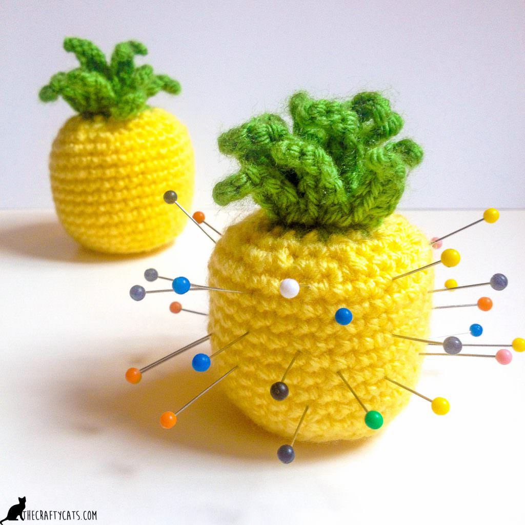 Pineapple Pincushion Crochet Pattern - A place to put your pins ...