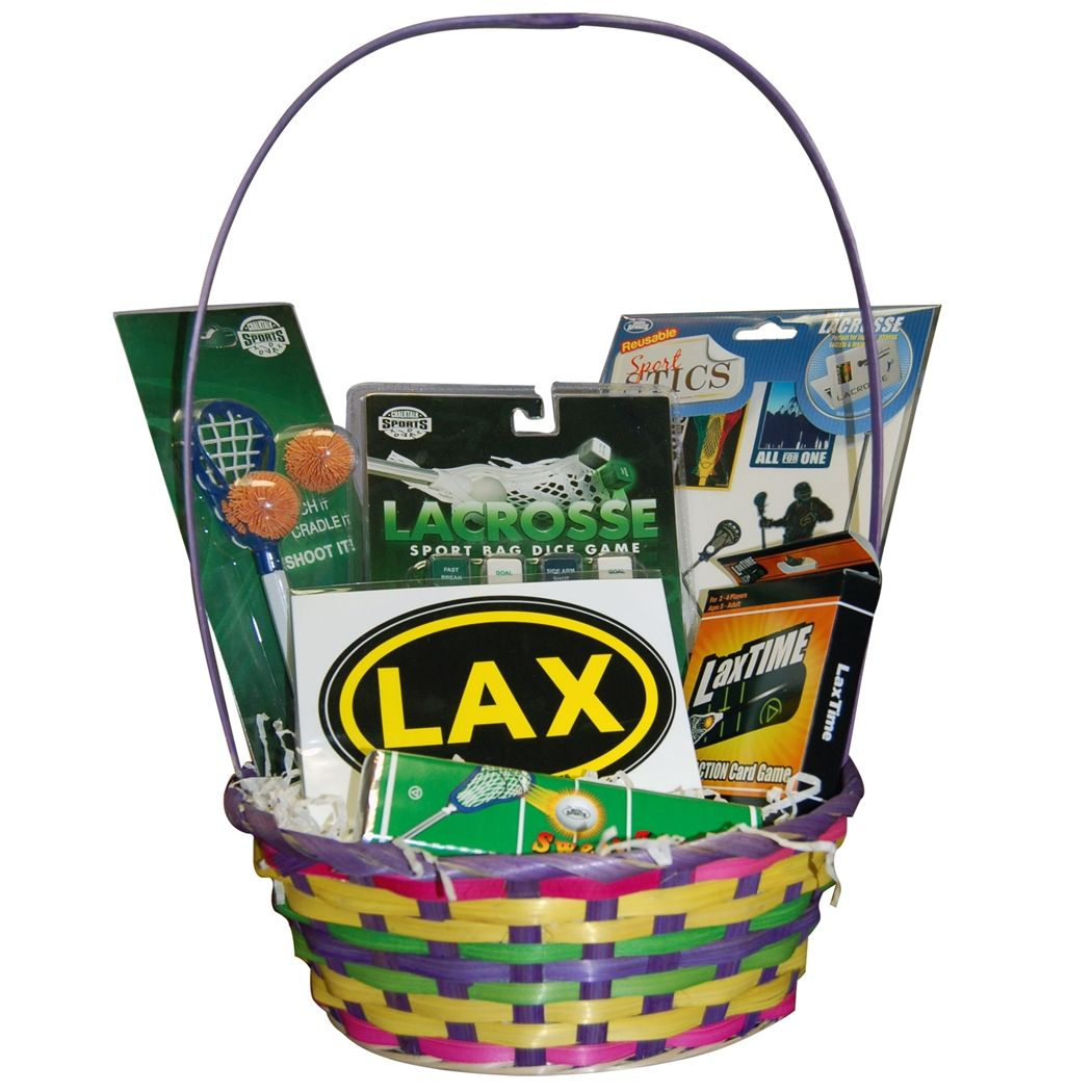 54f11b4a Lacrosse Easter Basket - Boys Lacrosse -- I have three boys who are ...