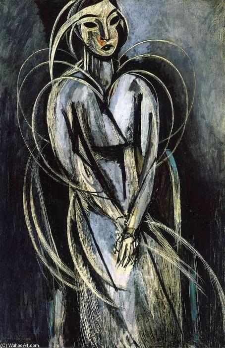 'Madame Yvonne Landsberg', 1914 von Henri Matisse (1869-1954, France)