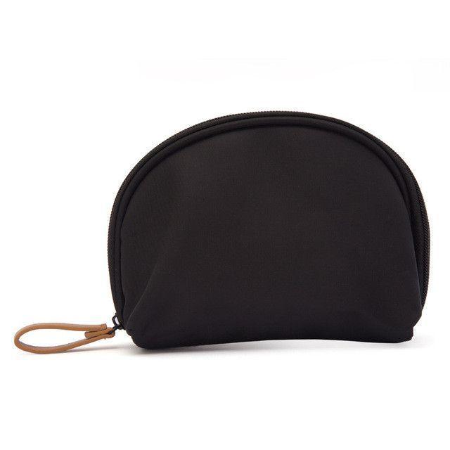 4ef795a3b48d Small Capacity Travel Cosmetic Make up Bag Protable Makeup Bag Purse Pouch  Zipper Main Brand Beautician Clutch bags