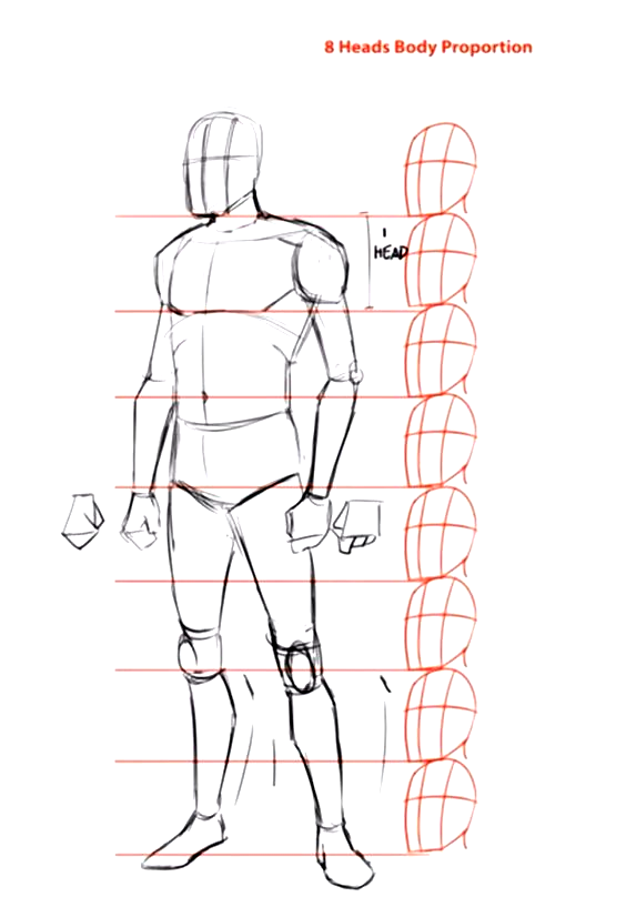How To Draw The Human Body Step By Step Welcome To This Step By Step Tutorial Here You Will Learn How In 2020 Human Body Drawing Person Drawing Human Anatomy Drawing