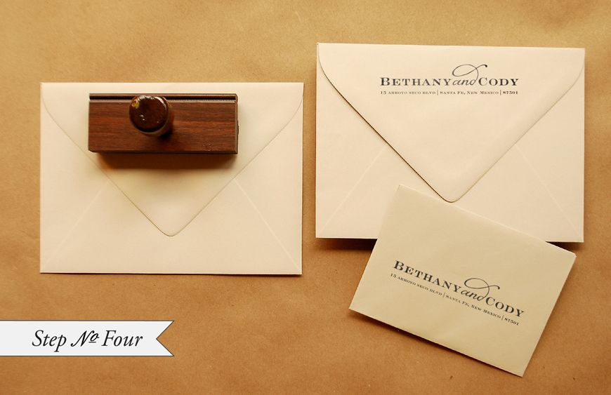 Ct designs calligraphy and wedding stationery your for Order in wedding invitation envelope