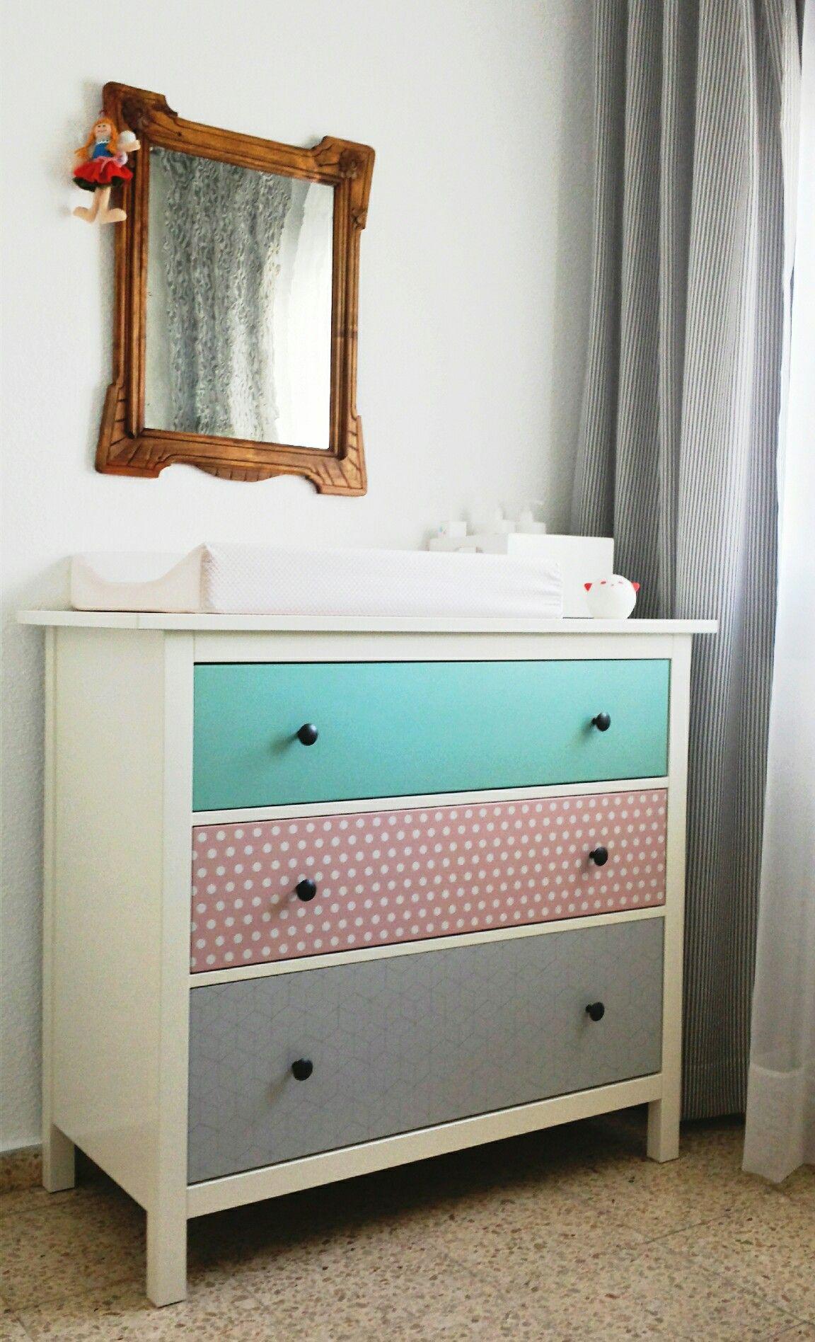 IKEA hack. La cómoda Hemnes del dormitorio de mi pequeña Nora ...