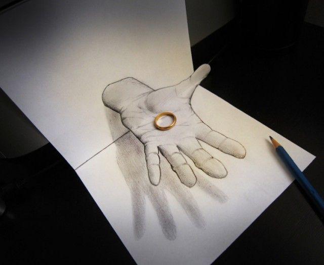 3d illusions drawing