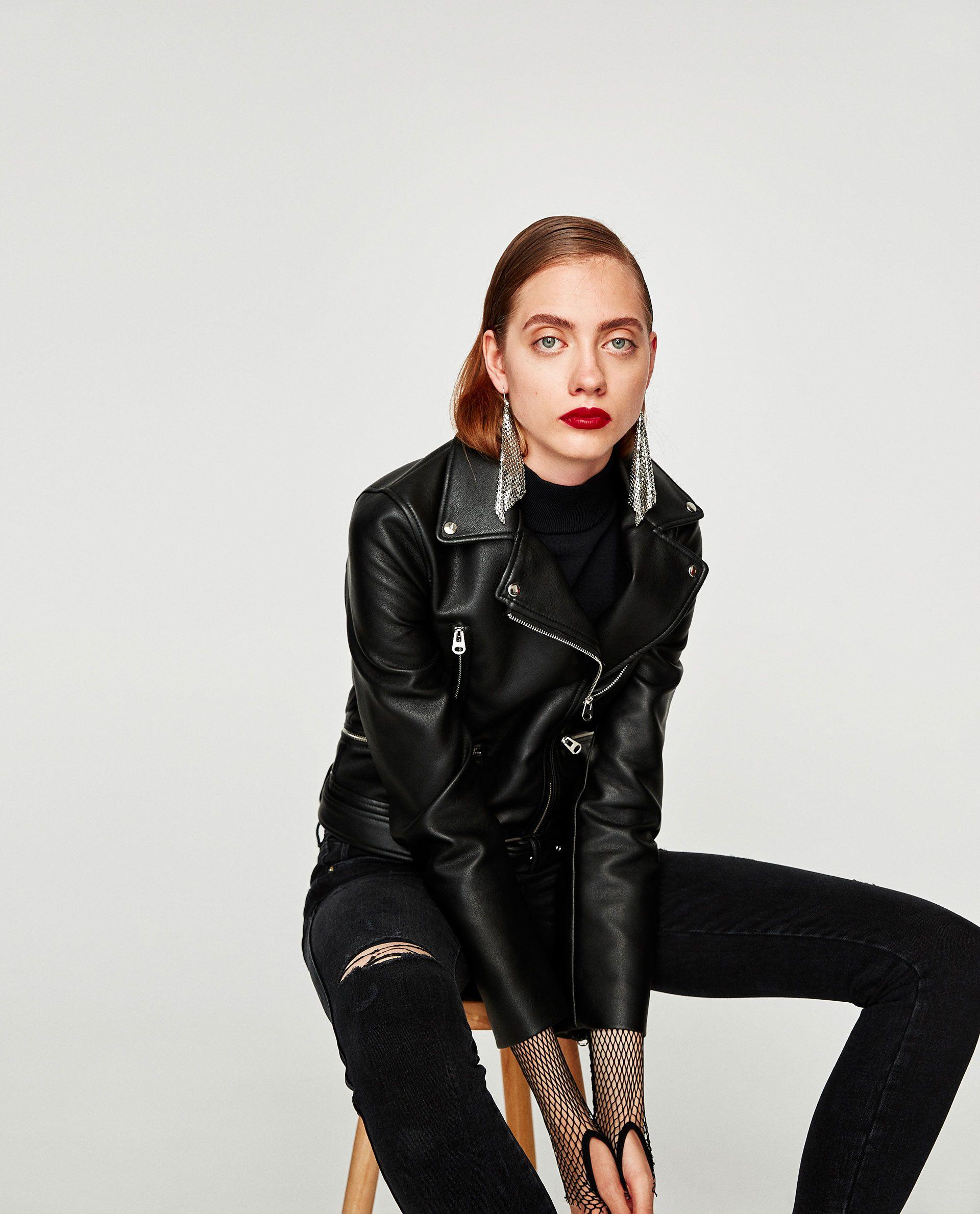 Image 5 of BIKER JACKET from Zara Jackets for women