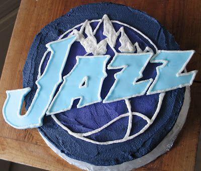 Utah Jazz Cake