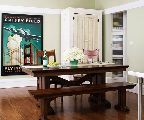 Ideas prácticas para tener un comedor en la cocina | Pinterest ...