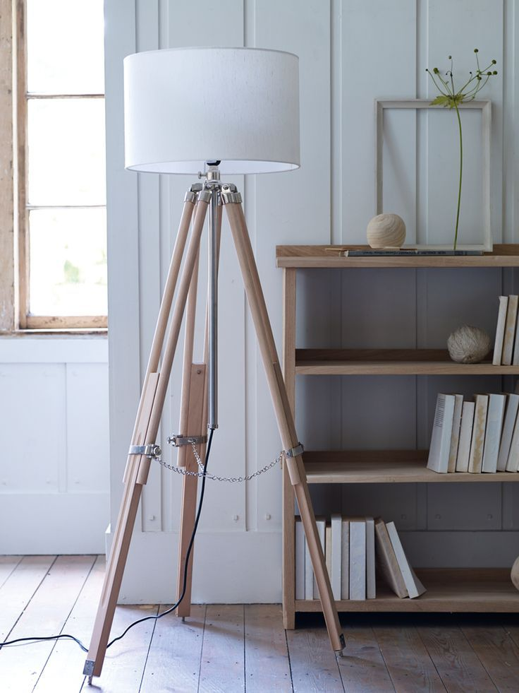 Floor standing wooden tripod lamp new decorative home home