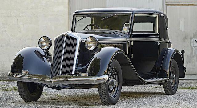 Lancia Artena faux cabriolet 1933
