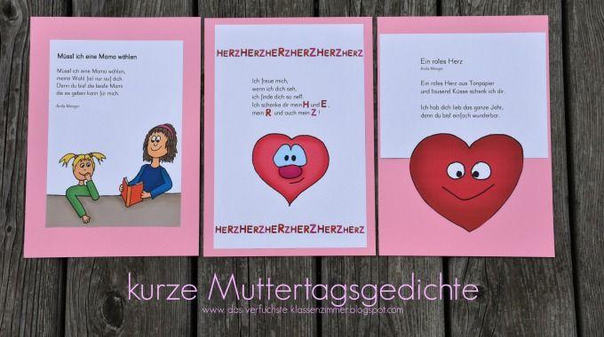 Kurze Muttertagsgedichte Klein Jpg 680 380 Pixel Mit Bildern
