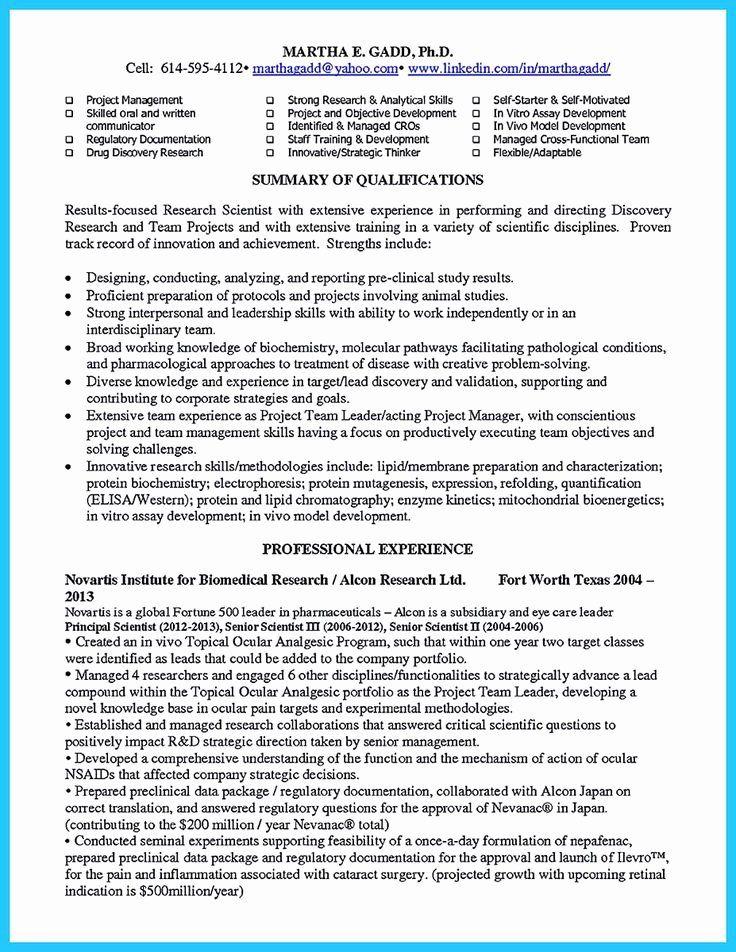 23 Phd Industry Resume Example in 2020 Resume examples