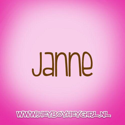 Janne (Voor meer inspiratie, en unieke geboortekaartjes kijk op www.heyboyheygirl.nl)
