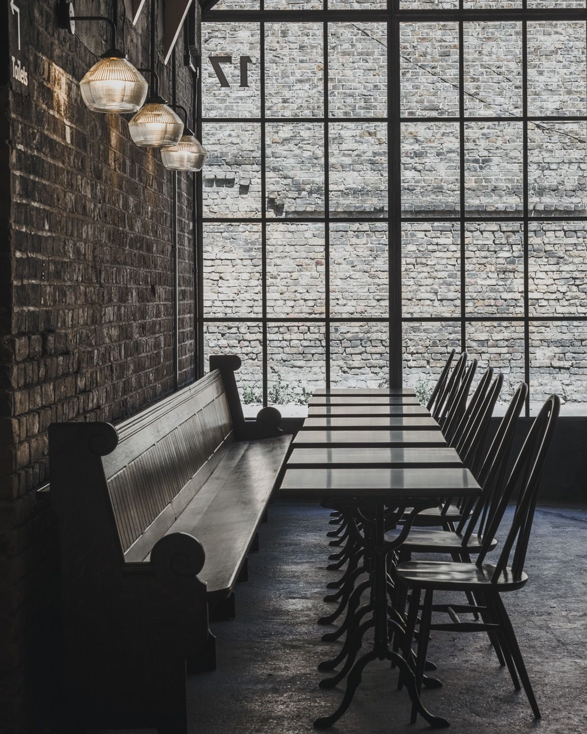 A Peek Inside St John At Hackney Brewery In London Brewery Brewery Design Brick Arch