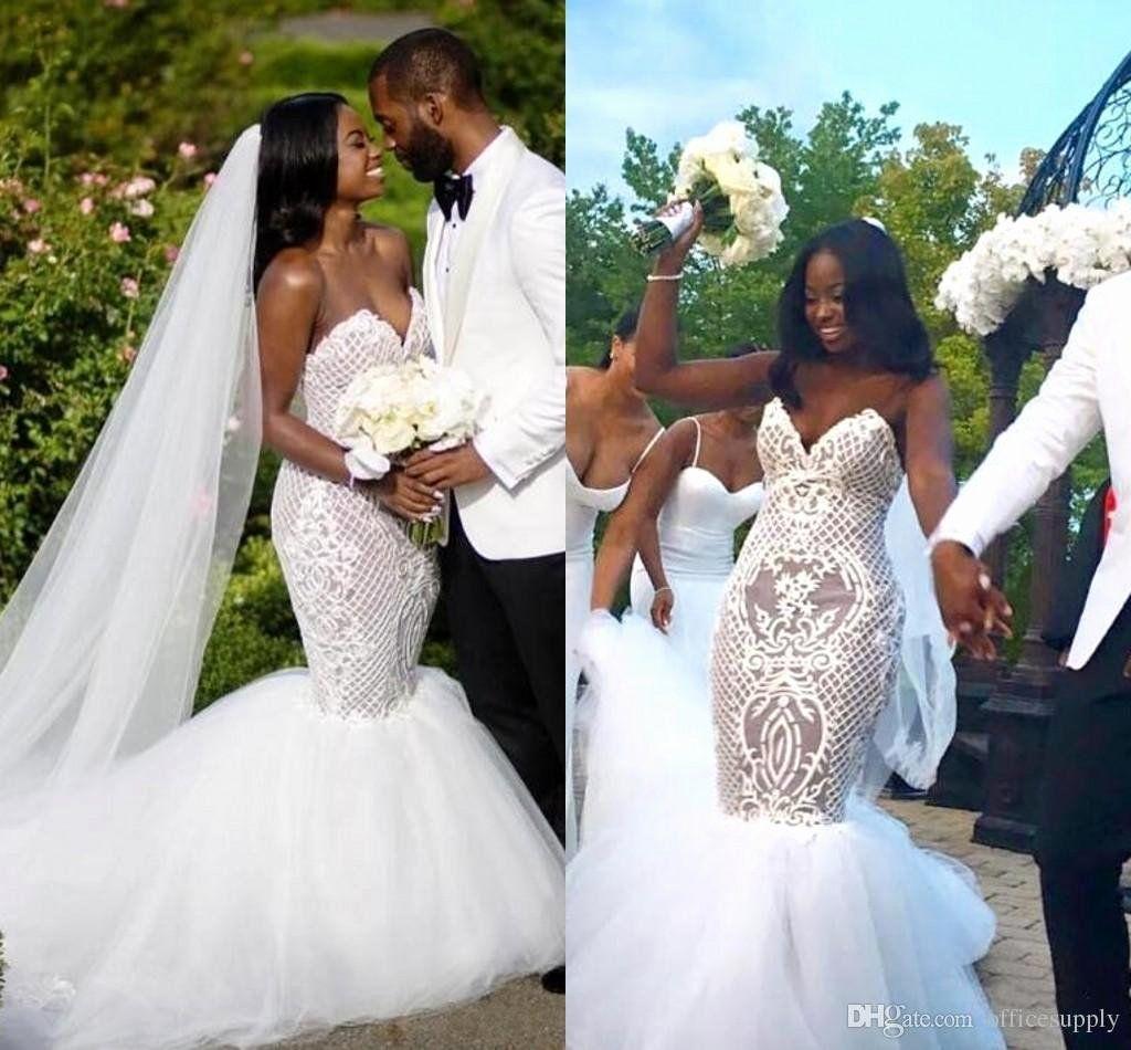 Dhgate Wedding Dress Reviews 2014 Fresh 2018 Y Lace Plus Size African White Wedding Dress Beaded Wedding Gowns Lace Mermaid Wedding Dress Mermaid Wedding Dress [ 950 x 1024 Pixel ]