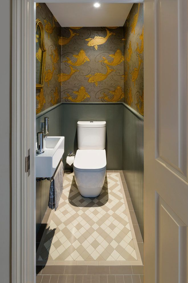 Traditional Powder Room Designs Powder Room Traditional With