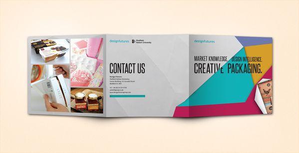 Design Futures exhibition materials by Alex Tomkins