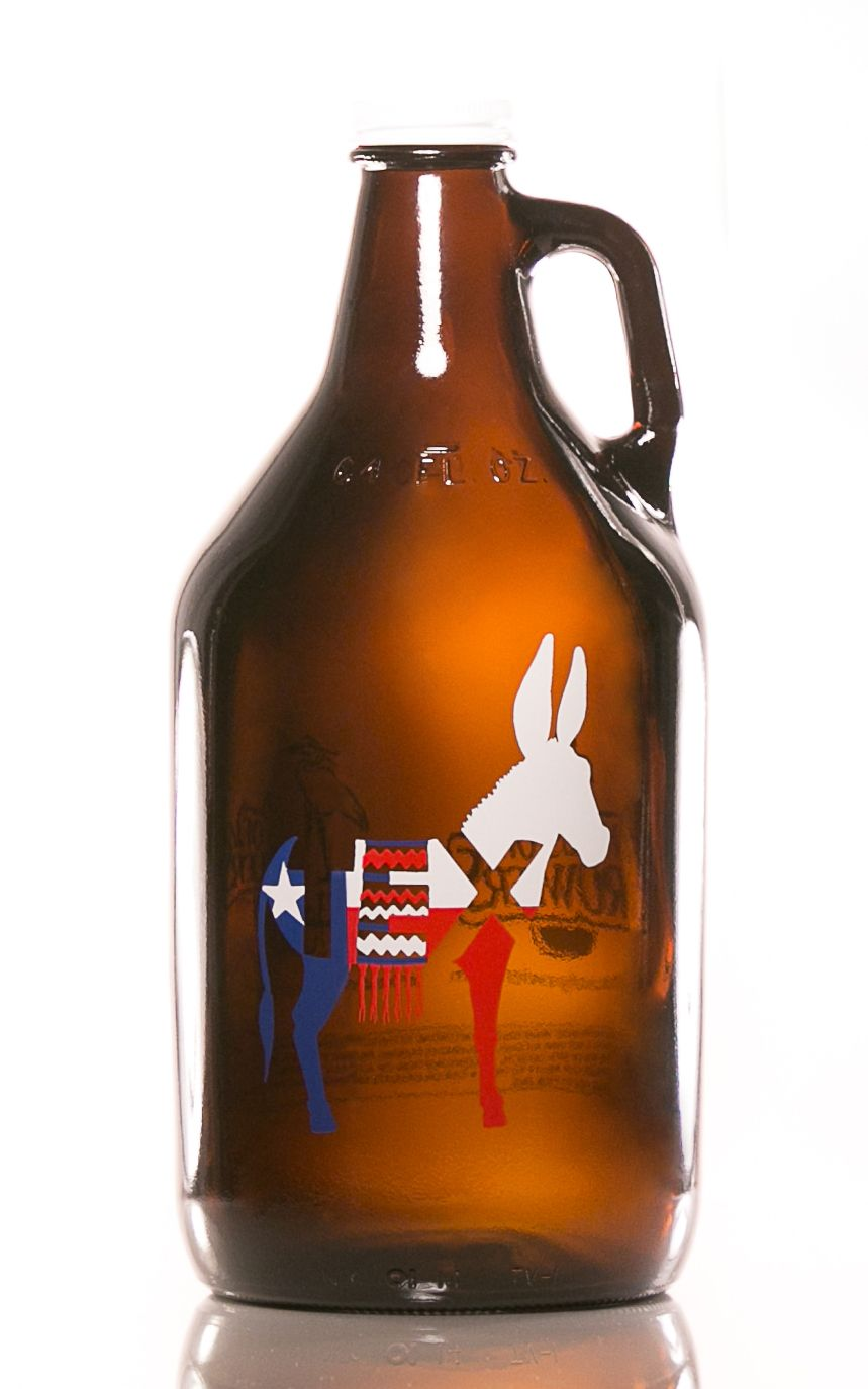 Haus Of Growlers Whereon Art Texas Series Growler Texass Craft
