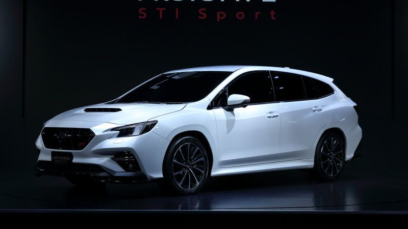 Subaru Levorg Sti Sport Prototype Revealed At Tokyo Auto Salon In 2020 Subaru Levorg Subaru Cars Subaru