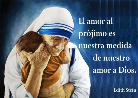 Madre Teresa De Calcuta Pensamientos Madre Teresa Santa Teresa