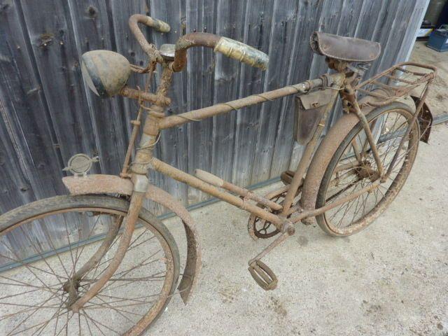 Altes Miele Oldtimer Fahrrad Fahrrad Oldtimer Altes Fahrrad