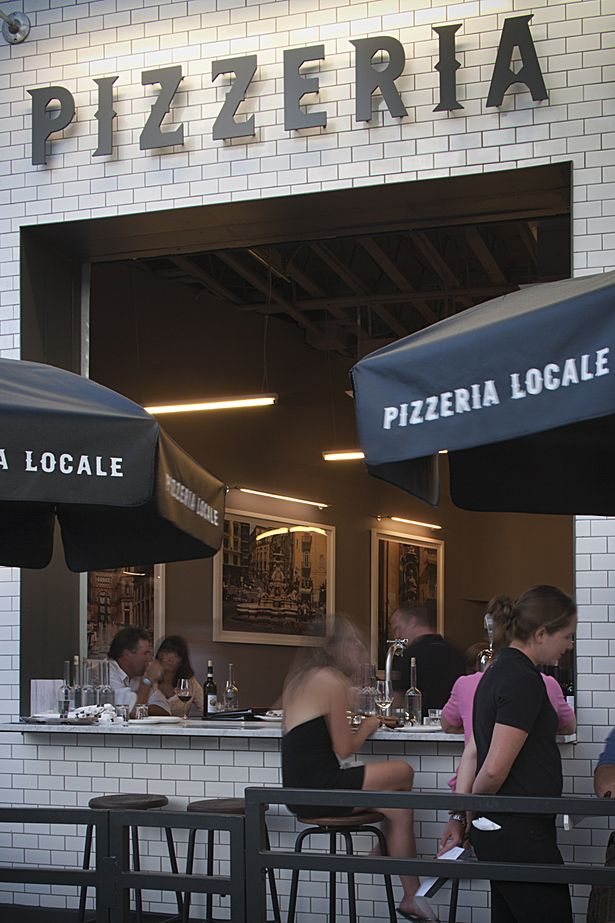Pizzeria Locale Is A Contemporary Inspired By The Traditional Pizzerias Of Naples Italy