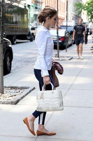 How To Wear Ballet Flats   SHEfinds Beauty/Fashion   Olivia
