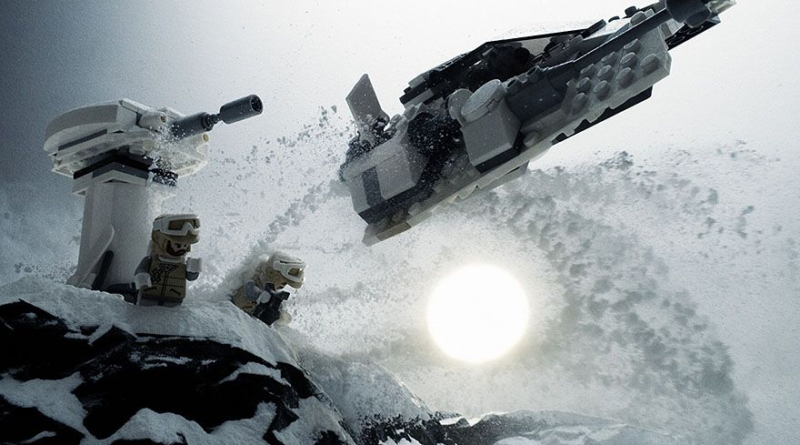 15 Epic Movie Scenes Recreated With LEGOs And Baking Soda #epicmovie