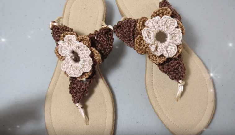Crochet Para Sandalias A Varias MujerManualidades QrdxBoEeWC