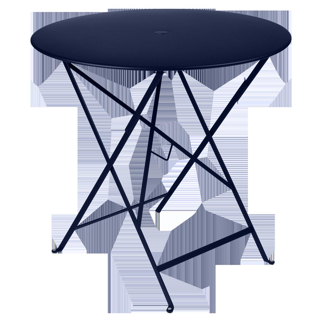 Tisch O 77 Cm Bistro Bistrotisch Klappbare Gartenmobel Klapptisch Rund Metall Esstisch Klapptisch