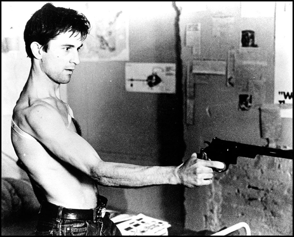 "Taxi Driver Quotes You Talkin' To Me"" Traivs Bickle Robert De Niro Taxi Driver 1976"