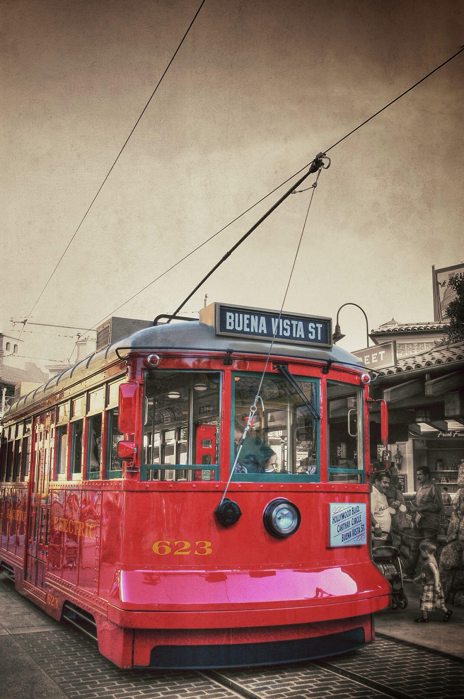 Red Car Trolley 623 Buena Vista Street
