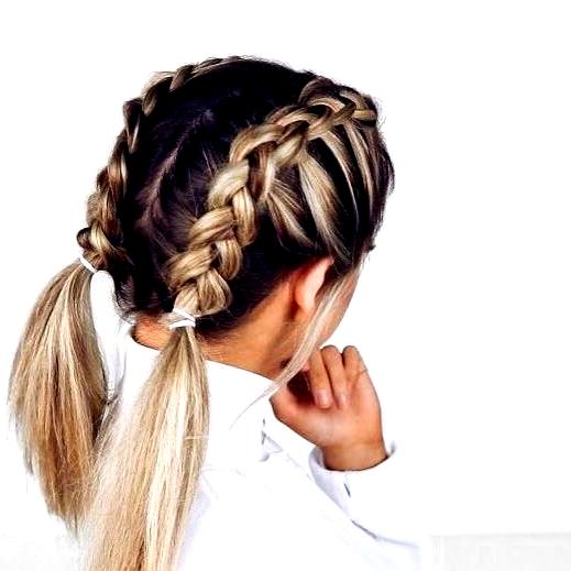 Schulterlanges Haar Flechten 15 Einfach Zu Verwendende Anweisungen Fur Jeden Tag Cute Simple Hairstyles Cute Hairstyles For Short Hair Braids For Short Hair