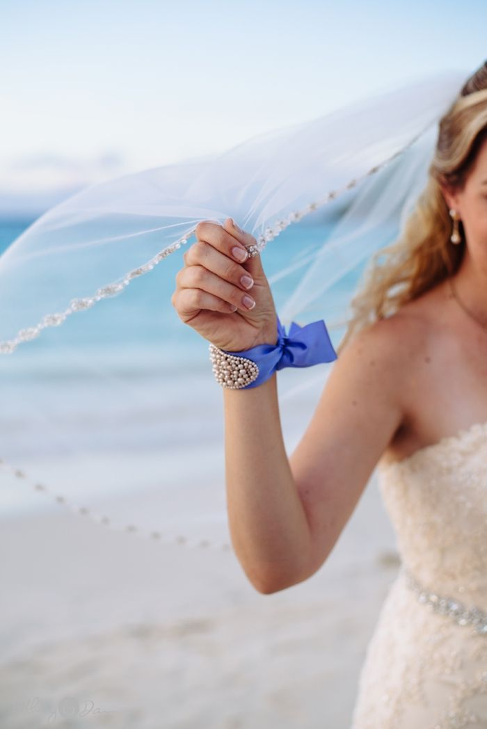 Gorgeous Ribbon Bracelet Destination Wedding In Culebra Puerto Rico Bethany And Dan Photography All Rights Reserved
