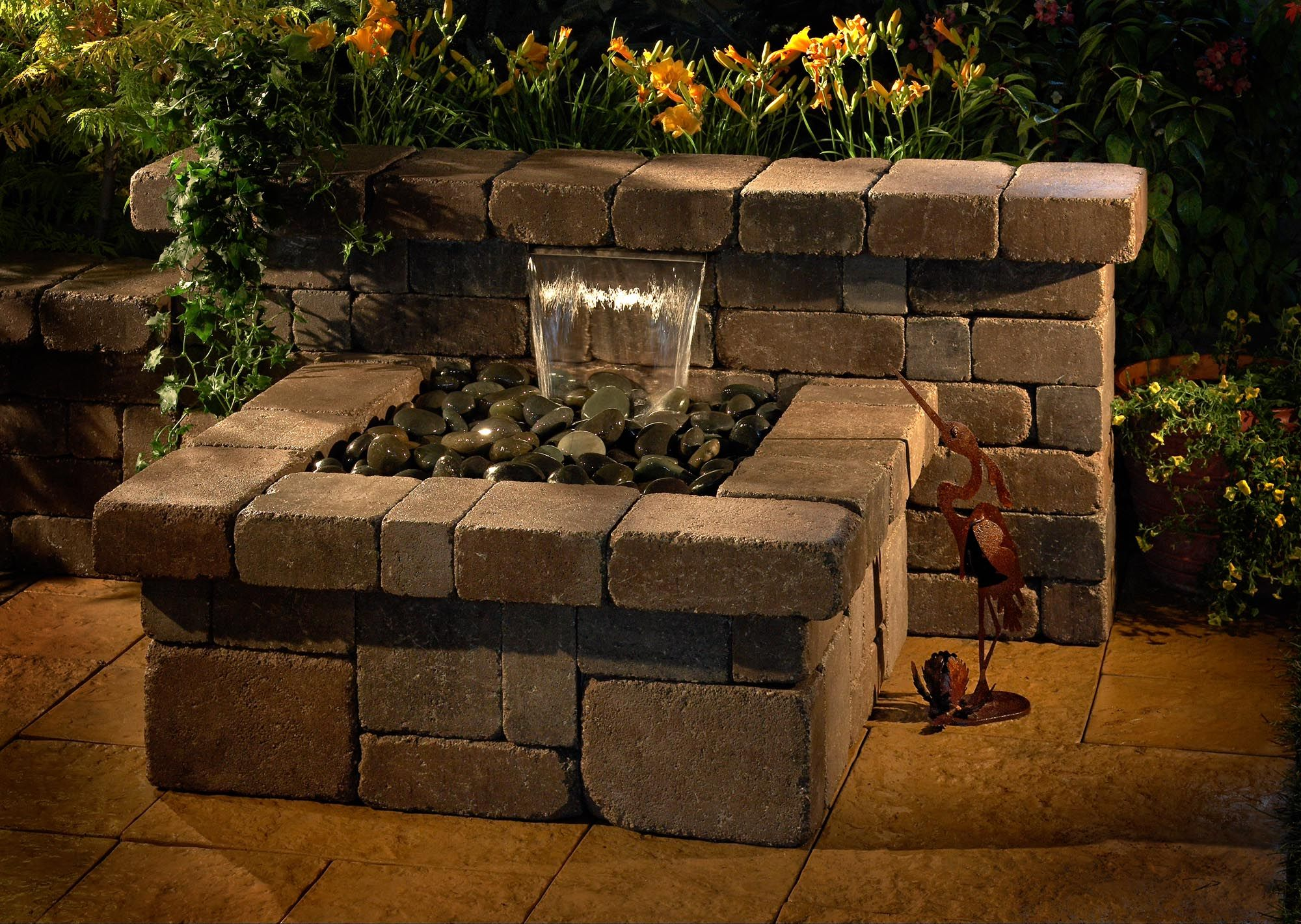 Rockwood Compact Water Feature Kit Dimensions 64 W X 40