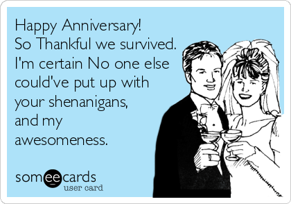 1 Year Work Anniversary Ecard