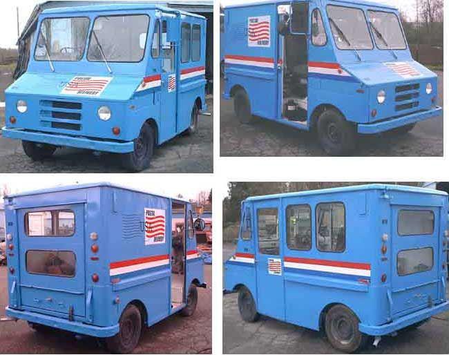 1983 Fj8c Mail Truck Mail Van With Images Mail Truck Vans