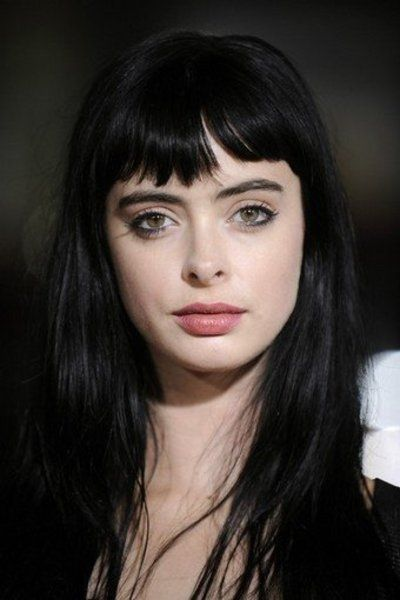 She makes me want to cut my bangs again. Such a babe